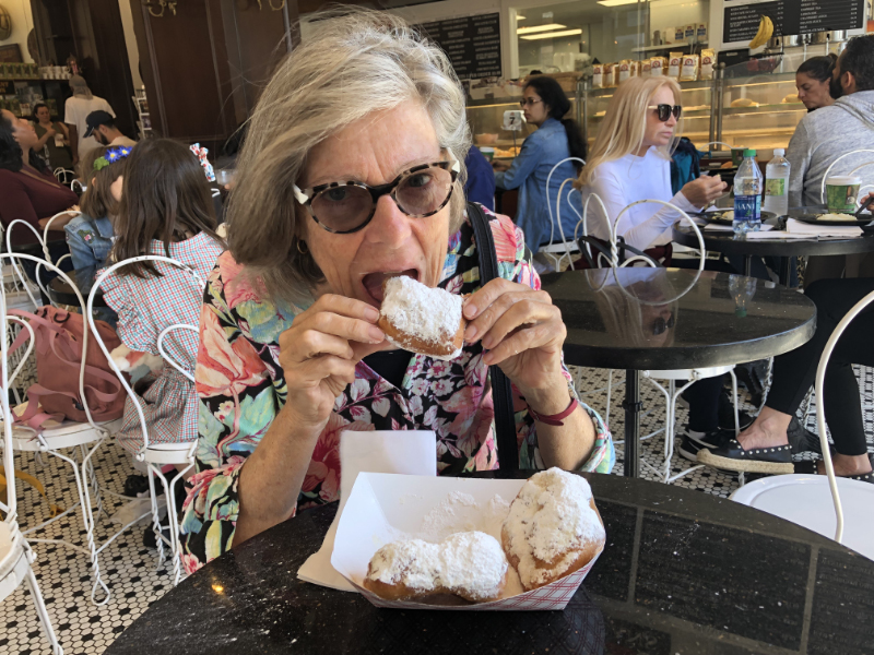 Beignet in New Orleans