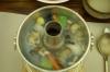 Seafood Hot Pot, Wrapped Kimchi