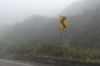 In the clouds - the road from Quito to Papallacta Hot Springs EC