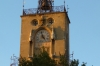 Clock tower on the Town Hall, Aix-en-Provence