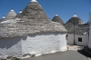 The Trulli, limestone dwellings of Rione Monti, Alberbello