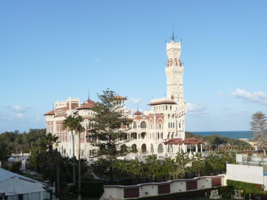 King Fahed's palace at Alexandria