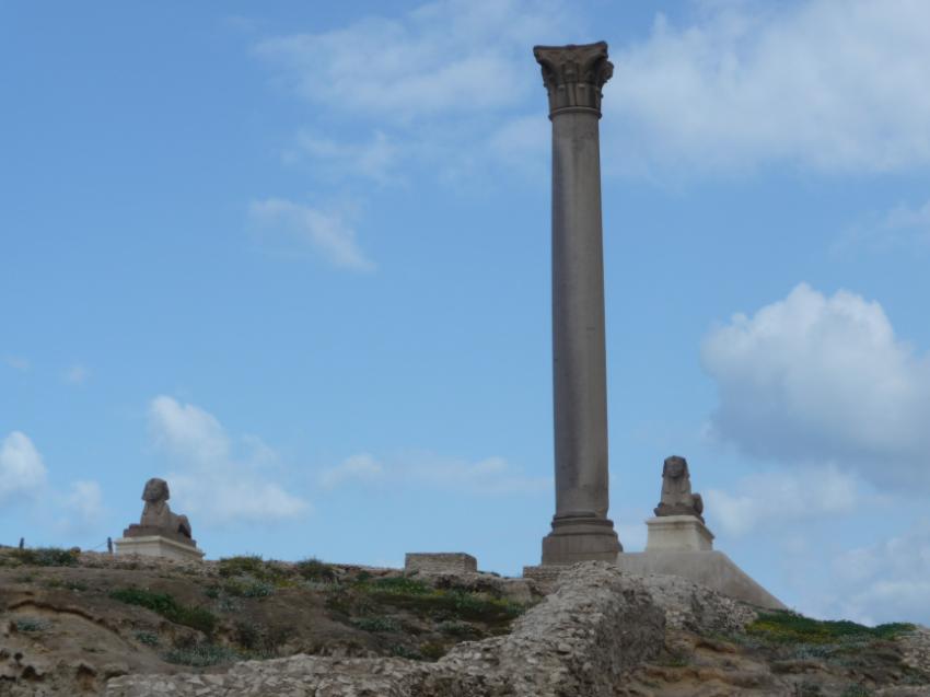 Pompey's Pillar and temple, Alexandria