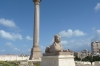 Pompey's Pillar and sphinx, Alexandria