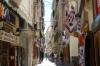 Narrow streets of Alghero, Sardinia IT