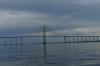 Ponte Jornalista Phelippe Daou bridge near Manaus on the Rio Negro BR