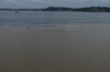 The meeting of the waters - Rio Solimões and Rio Negro near Manaus BR