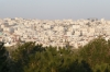 Hussein Park on family Friday - Amman skyline
