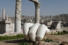 The Citadel, Amman - massive hand from Temple of Hercules