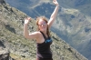 Elisse on top of the world, La Coma, Andorra
