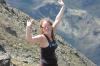 Elisse on top of the world, La Coma, Andorra