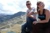 Hayden and Elisse at La Coma, Andorra