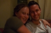 Hayden & Elisse at the Restaurant Refugi Ordino Andorra