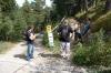 This is the right road.  Hayden, Bruce, Evan & Elisse, La Massana, Andorra