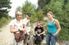Thea, Evan, Hayden & Elisse on the road, La Massana, Andorra