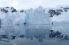 Icebergs and glaciers in Paradise Harbour, Antarctica