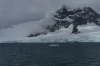 Travelling through Charcot Channel in the Palmer Archipelago, Antartica