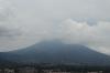 View towards Volcan de Aqua from Cerro de la Santa Cruz