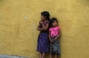 Little girls in Antigua