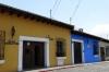 Colourder street scape in Antigua