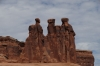 Three gossips, Arches National Park