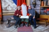 Bruce & Thea meet the man-in-red at his Arctic Circle home