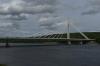 Jätkänkynttilä Bridge on Kemijoki River, Rovaniemi FI