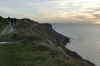 Western cliffs of Isle of Portland UK