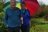 Farewelling Pat & Graham, Pomegranates Burton Bradstock UK
