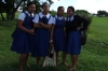 School girls, asked to have their photos taken in Nuku'alofa, Tonga
