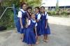 School girls, asked to have their photos taken in Nuku'alofa, Tonga
