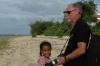 Low tide opposite the Little Italy Hotel, Nuku'alofa, Tonga