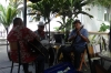 Jam session at the Friends Cafe in Nuku'alofa, Tonga