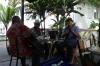 Jam session at the Friends Cafe in Nuku'alofa, Tonga