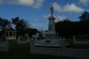 War Memorial and band stand in the park next to the Prime Minister's office in Nuku'alofa, Tonga