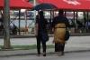 People in the street in Nuku'alofa, Tonga