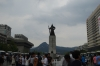Statue of King Sejong the Great in Gwanghwamun Square, Seoul KR