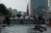The beginning of the Cheonggyecheon Stream, Seoul KR