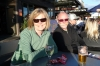 Bruce & Thea enjoy a drink at the Taupo pub on Lake Terrace NZ