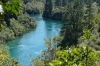 Huka Falls to Aratiatia Rapids walk on the Waitako River, Taupo NZ