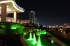 Ashgabat near the Sofitel at night