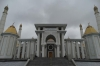 Mosque honouring President Turkmenbashi (died 2006)