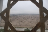 View from Ferris wheel on Berzengi Highway, Ashgabat TM