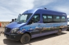 Our bus at Laguna Miscanti, Atacama Desert CL