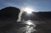 Sunrise. Geysers del Tatio, Atacama Desert CL