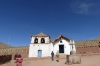 San Santiago Church. Village of Machuca (20 houses), Atacama Desert CL
