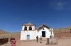 San Santiago Church. Village of Machuca (20 houses), Atacama Desert CL