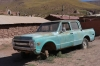 Old Chevrolet, Village of Machuca (20 houses), Atacama Desert CL