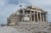 The Parthenon, temple dedicated to Athena, built 447BC-432BC, under repair, Acropolis, Athens