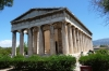 Temple of Hephaestus, Athens - most complete temple in Greece